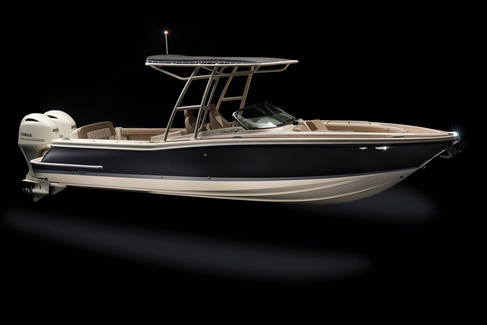 Chris Craft Calypso 26 Starboard Profile