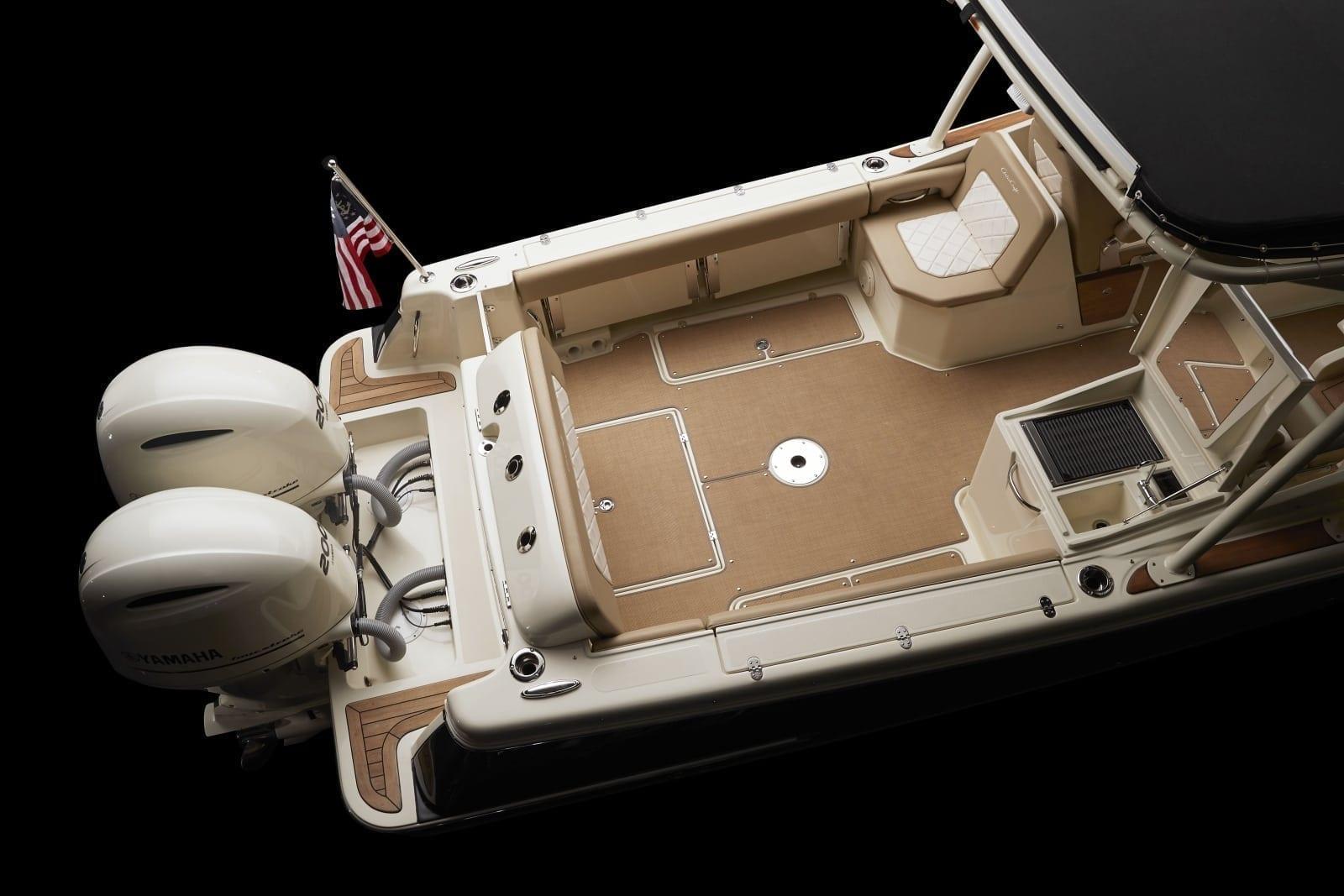 Chris Craft Calypso 26 Rear Deck