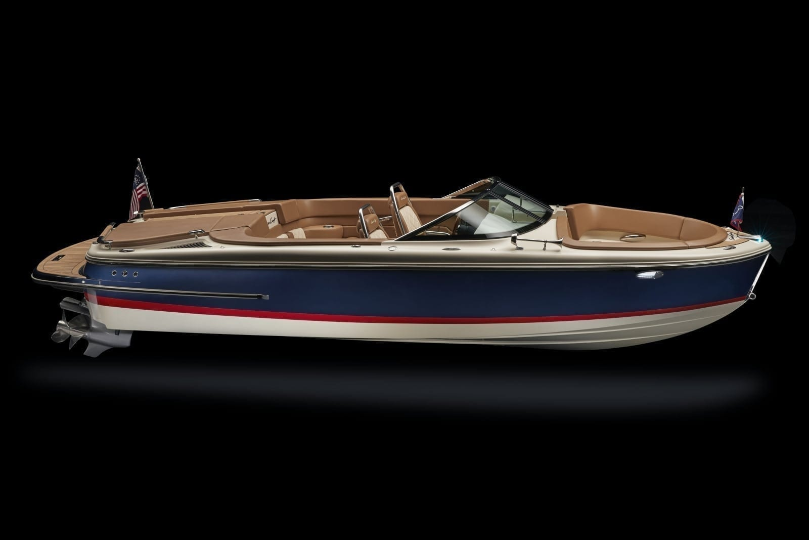 Chris Craft Carina 21 Starboard High Profile View