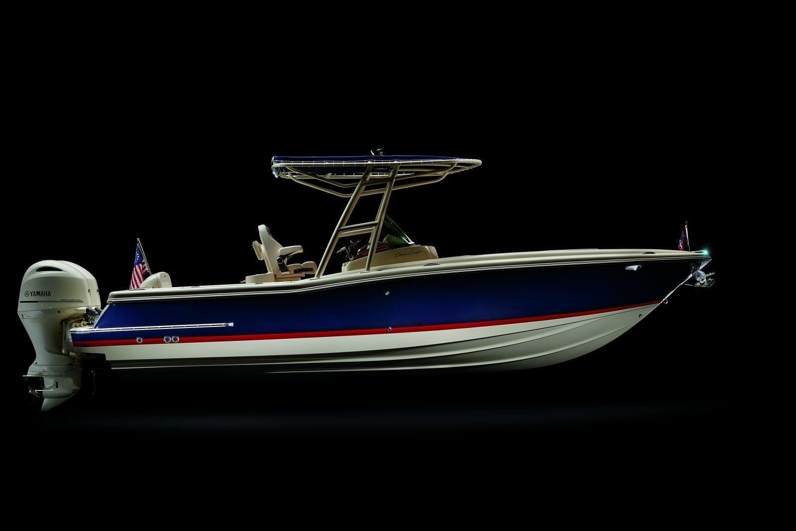 Chris Craft Catalina 36 Starboard Profile