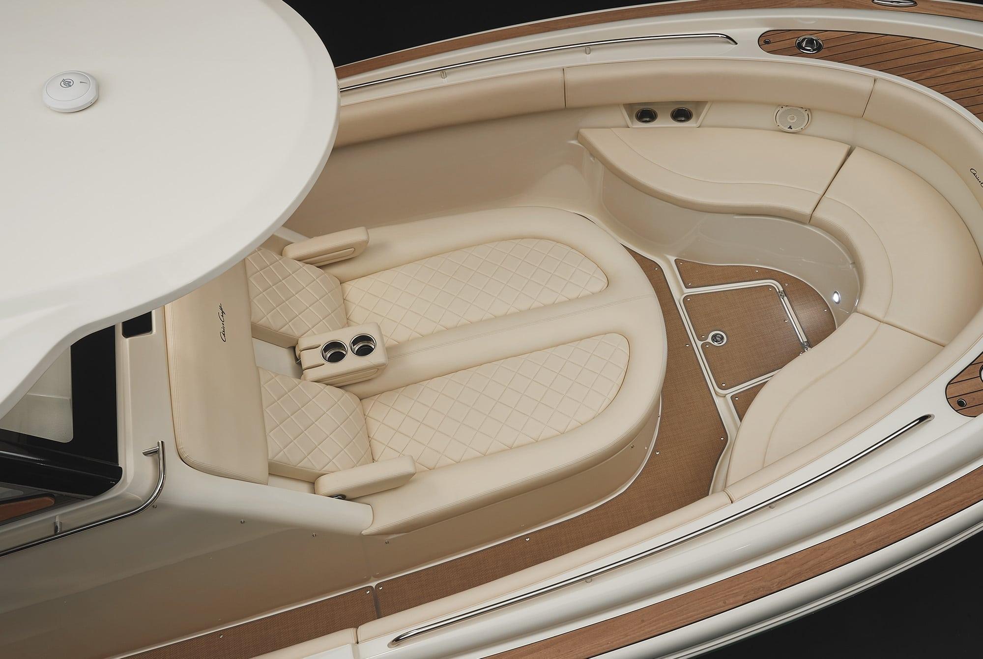 Chris Craft Catalina 29 Bow Seating Area
