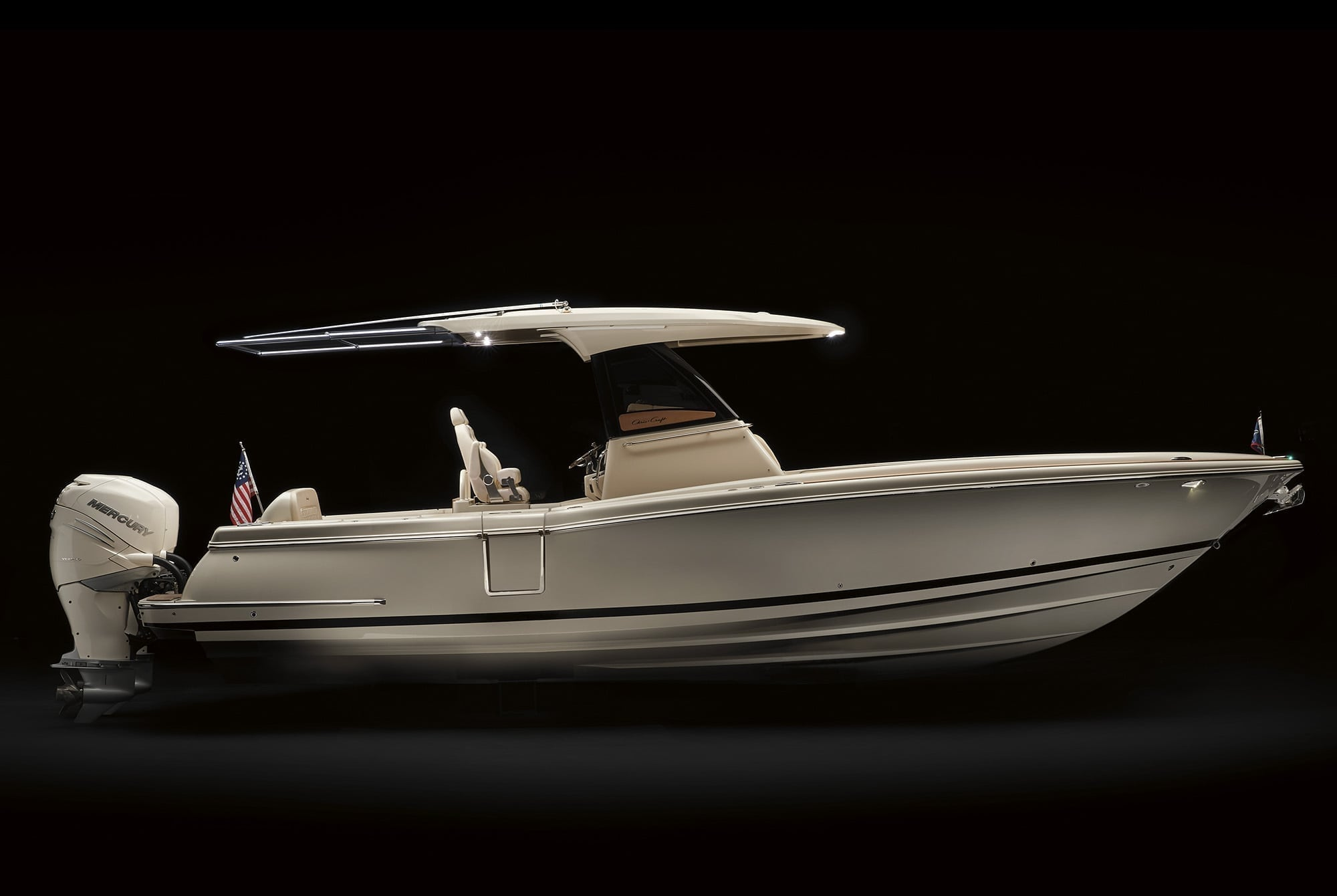 Chris Craft Catalina 29 Low Angle SIde Profile View